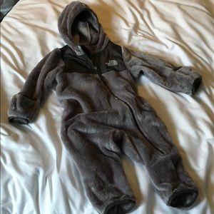 North Face Fleece Baby Bunting